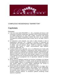 Capitolato - Immobiliare.it