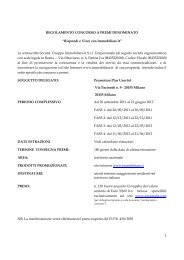1 REGOLAMENTO CONCORSO A PREMI ... - Immobiliare.it