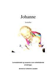 Johanne Lausten's bog - lausten .dk