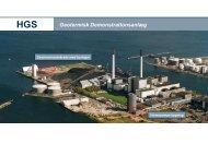 Geotermisk Demonstrationsanlæg - DONG Energy