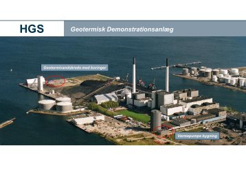 Geotermisk Demonstrationsanlæg - DONG Energy