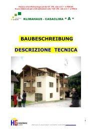 HG HAUSBAU GmbH - NuoveCostruzioni.it