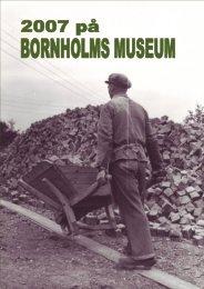 Årsberetning for - Bornholms Museum