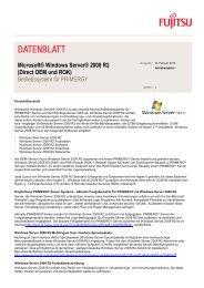 Data Sheet: Windows Server 2008 R2