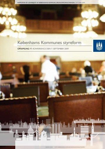 Københavns Kommunes styreform