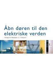 Åbn døren til den elektriske verden - NKT