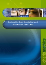 Charismathics Smart Security Interface Manager 4.8.1