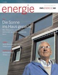 Diese Spezialreiniger haben es in sich! Sparen ... - EWS Energie AG
