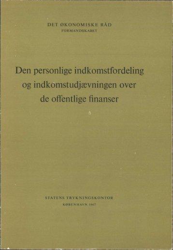 Dansk økonomi, november 1967 - De Økonomiske Råd