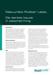 Natural Rubber Latex nl - Ansell Healthcare Europe