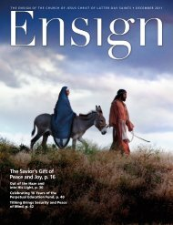 December 2011 Ensign - The Church of Jesus Christ of Latter-day ...