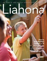 March 2013 Liahona - The Church of Jesus Christ of Latter-day Saints