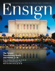 December 2012 Ensign - The Church of Jesus Christ of Latter-day ...