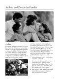 ANLEITUNG FÜR DIE FAMILIE - Kirche Jesu Christi der Heiligen ... - Seite 7