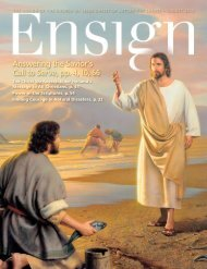 August 2012 Ensign - The Church of Jesus Christ of Latter-day Saints
