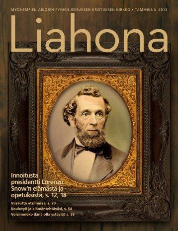 Tammikuu 2013 Liahona - The Church of Jesus Christ of Latter-day ...