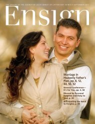 September 2011 Ensign - The Church of Jesus Christ of Latter-day ...