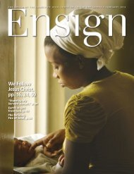February 2013 Ensign - The Church of Jesus Christ of Latter-day ...