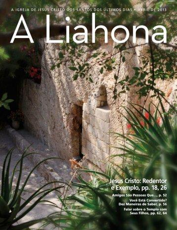 Abril de 2013 A Liahona