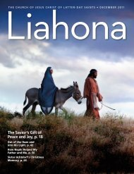 December 2011 Liahona - The Church of Jesus Christ of Latter-day ...