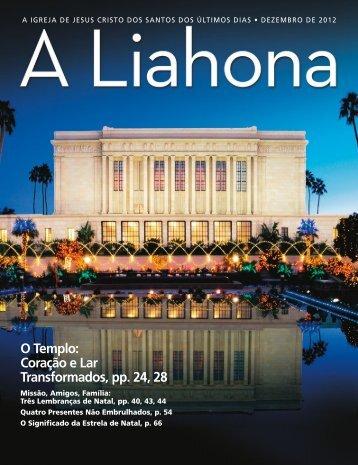 Dezembro de 2012 A Liahona - The Church of Jesus Christ of Latter ...