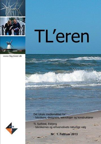 Se nr. 1 - 2013 af TL'eren - Teknisk Landsforbund