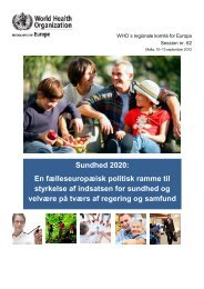 Download Health 2020 - Sund By Netværket