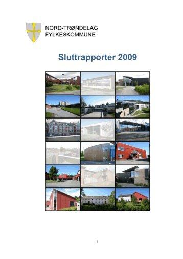 Sluttrapporter 2009