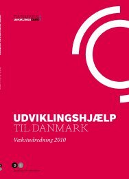 UDVIKLINGSHJÆLP TIL DANMARK – VÆKSTUDReDNING 2010 - DI