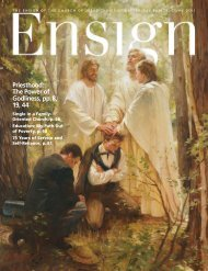 June 2011 Ensign - The Church of Jesus Christ of Latter-day Saints