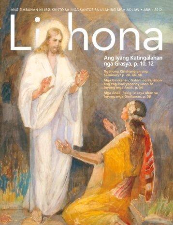 Ang Iyang Katingalahan nga Grasya, p. 10, 12 - The Church of ...