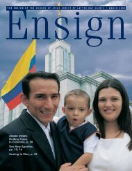 March 2005 Ensign - The Church of Jesus Christ of Latter-day Saints