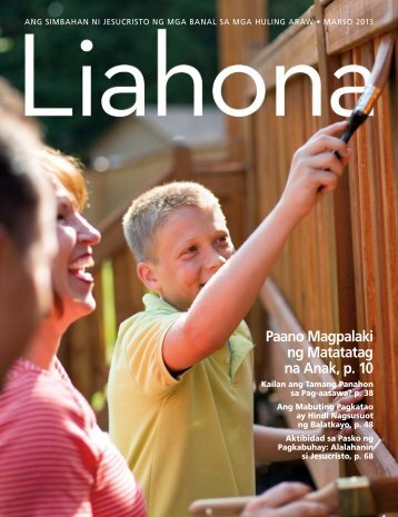 Marso 2013 Liahona - The Church of Jesus Christ of Latter-day Saints