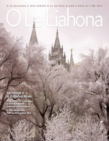 Saunoaga o le Konafesi Aoao - The Church of Jesus Christ of Latter ...