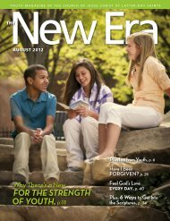 August 2012 New Era - The Church of Jesus Christ of Latter-day ...