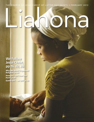 February 2013 Liahona