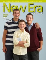 September 2011 New Era - The Church of Jesus Christ of Latter-day ...