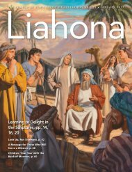 January 2012 Liahona - The Church of Jesus Christ of Latter-day ...