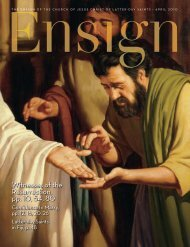 April 2010 Ensign - The Church of Jesus Christ of Latter-day Saints