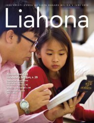 Juni 2012 Liahona - The Church of Jesus Christ of Latter-day Saints