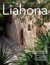 April 2013 Liahona - Kirche Jesu Christi der Heiligen der Letzten Tage