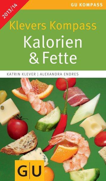 Kalorien & Fette