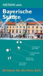 Bayerische Städte