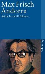Max Frisch Andorra - eBook.de