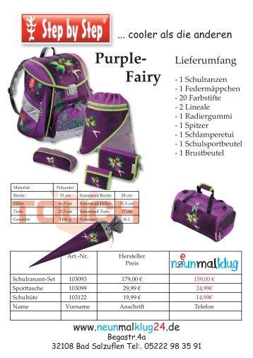 Purple- Fairy