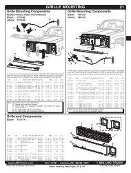 grilles - LMC Truck