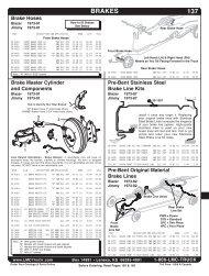 Brake Hoses - LMC Truck