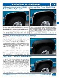 77 ExTERIOR ACCESSORIES - LMC Truck