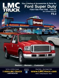 """F-150 Crew Cab 6.5/' Bed 15-16 Stainless Steel 4 3//4/"""" Rocker Panel BBL 12PC"""