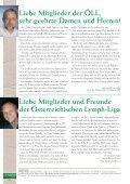 10 Jahre Österreichische Lymph-Liga Vorträge der ... - Page 2